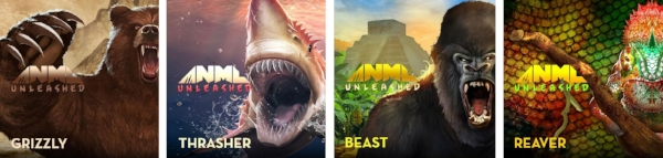 ANML Unleashed is a collection of four all-new flavors.