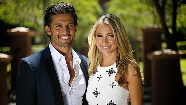 2013 Bachelor: Tim Robards with Anna Heinrich