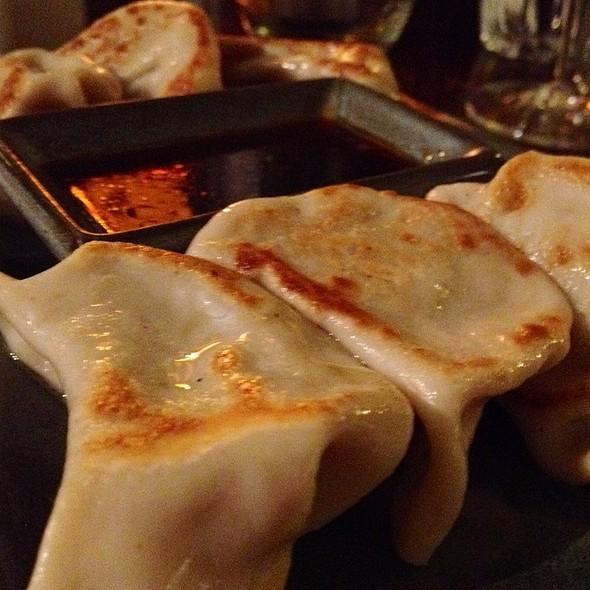 Sweet Potato Gyoza