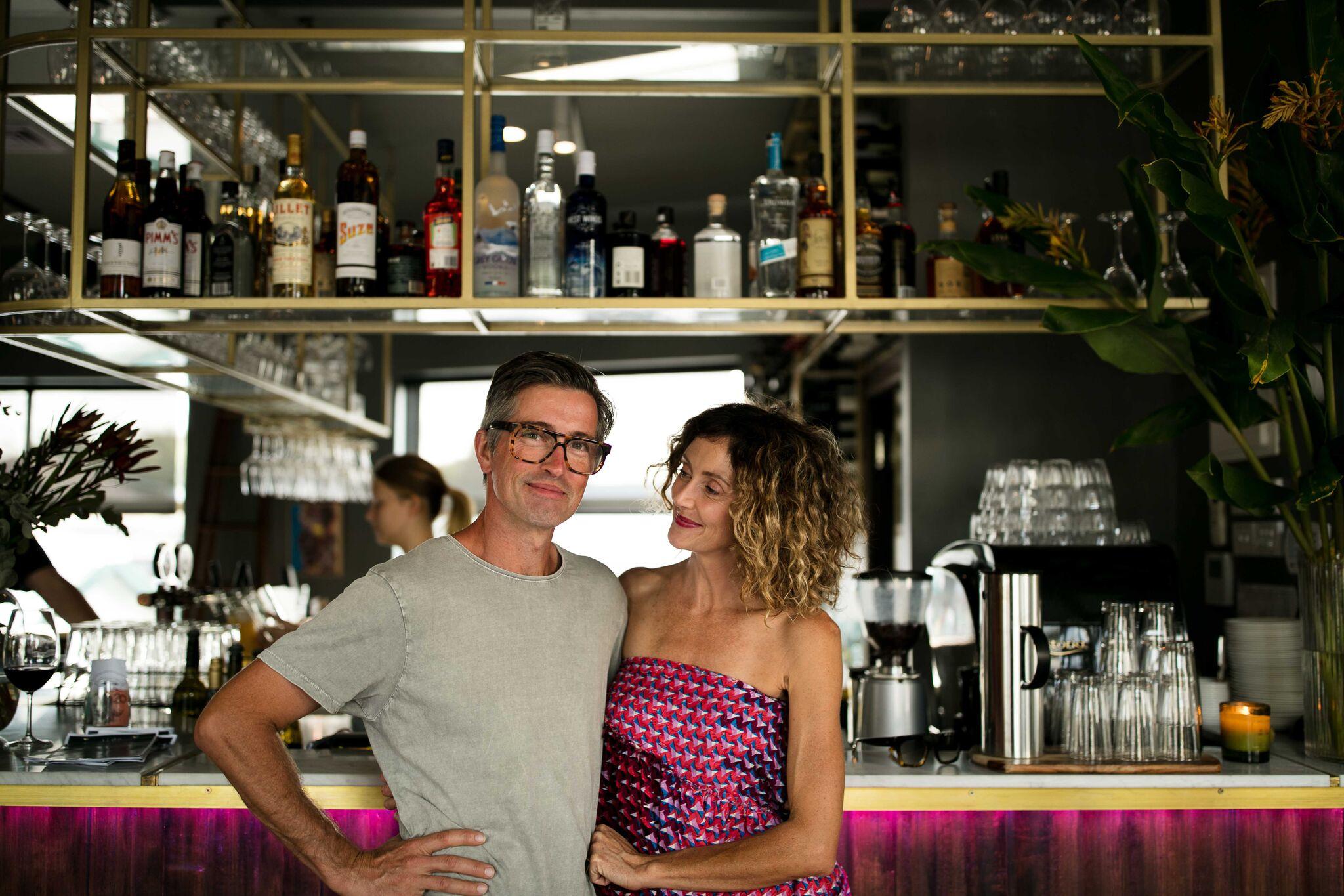 Owners Paul & Emma Bangay