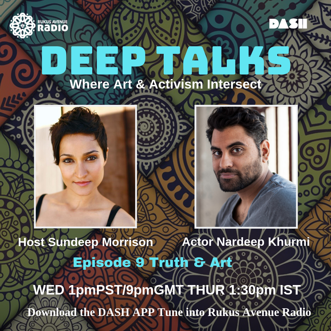 Deep Talks Episode 9 - Truth & Art Guest Actor Writer Director Nardeep Khurmihttps://drive.google.com/file/d/1sMei4LVp1wFuh2JmQh59_vOMHsvAUNan/view