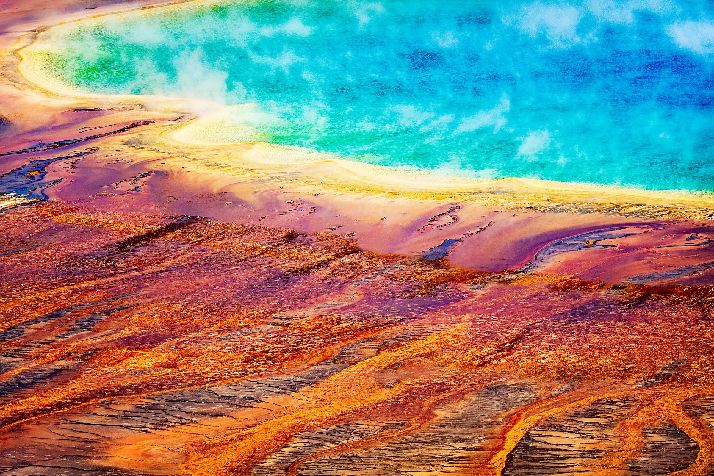 Grand Prismatic, Wyoming ©2018 Brian Rivera Uncapher
