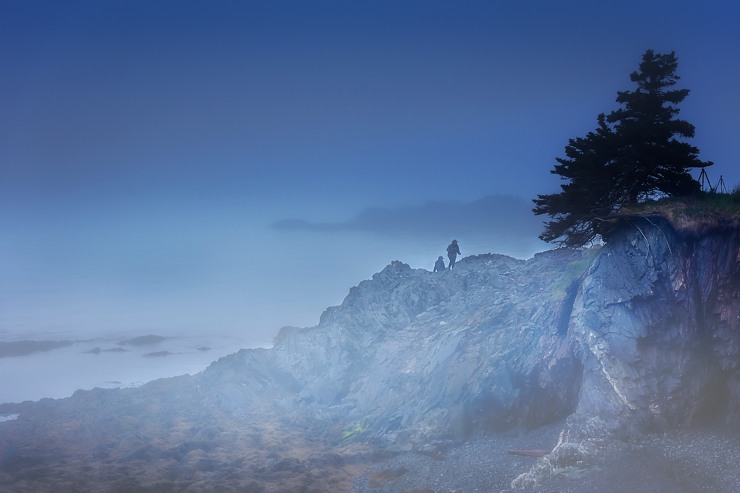 Above : Early morning landscape photography workshop -- Lubec, Maine