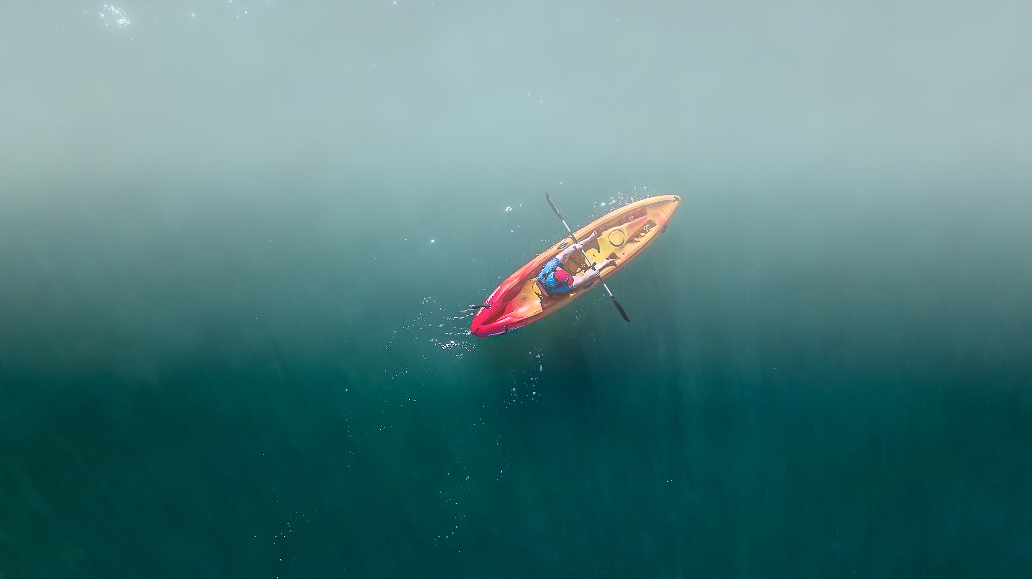 Tip: Different perspectives add interest to your story.   Above: Kayak adventure in the Florida Keys. Photo Credit: Brian Rivera Uncapher
