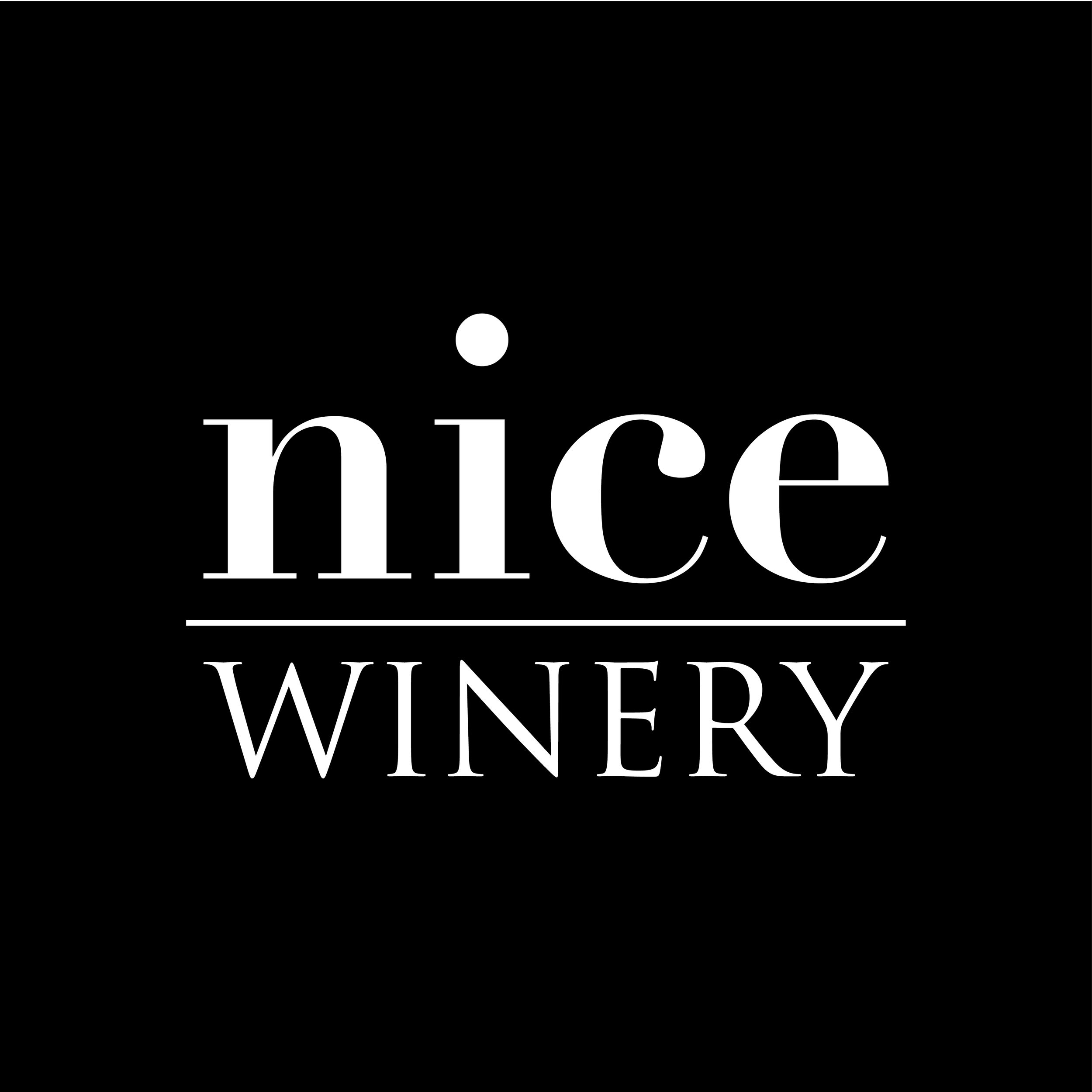 Nice Winery's logo, created by Warner Boin.