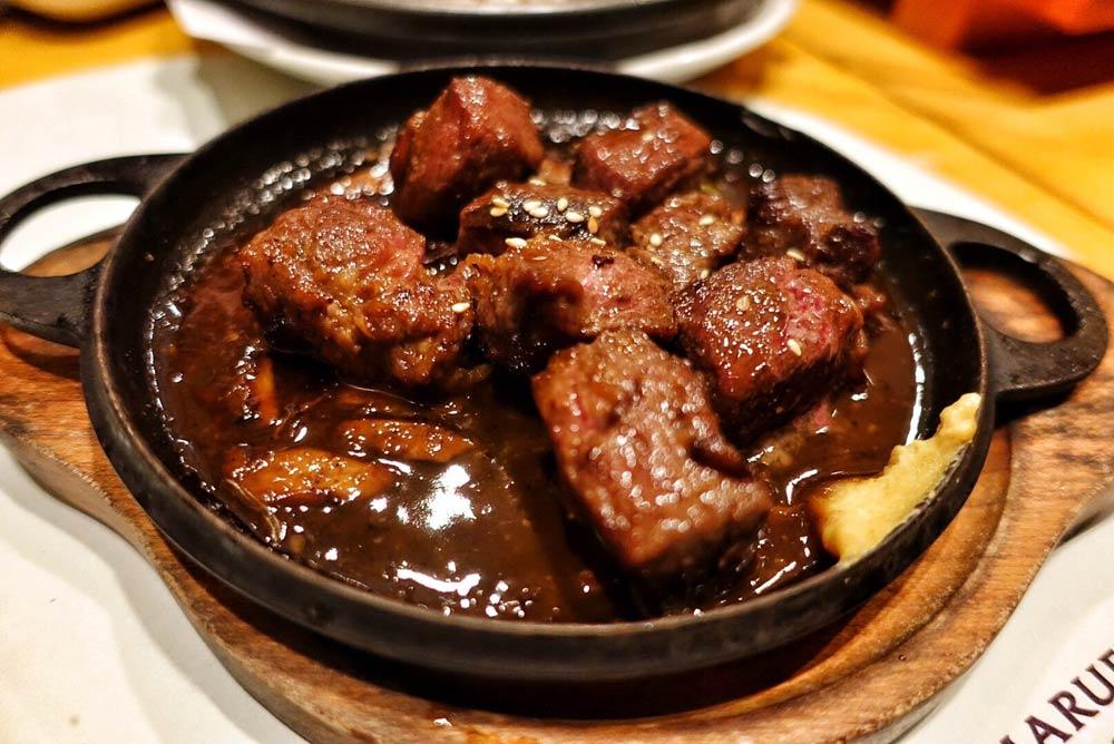 Beef Saikoro!!!!!