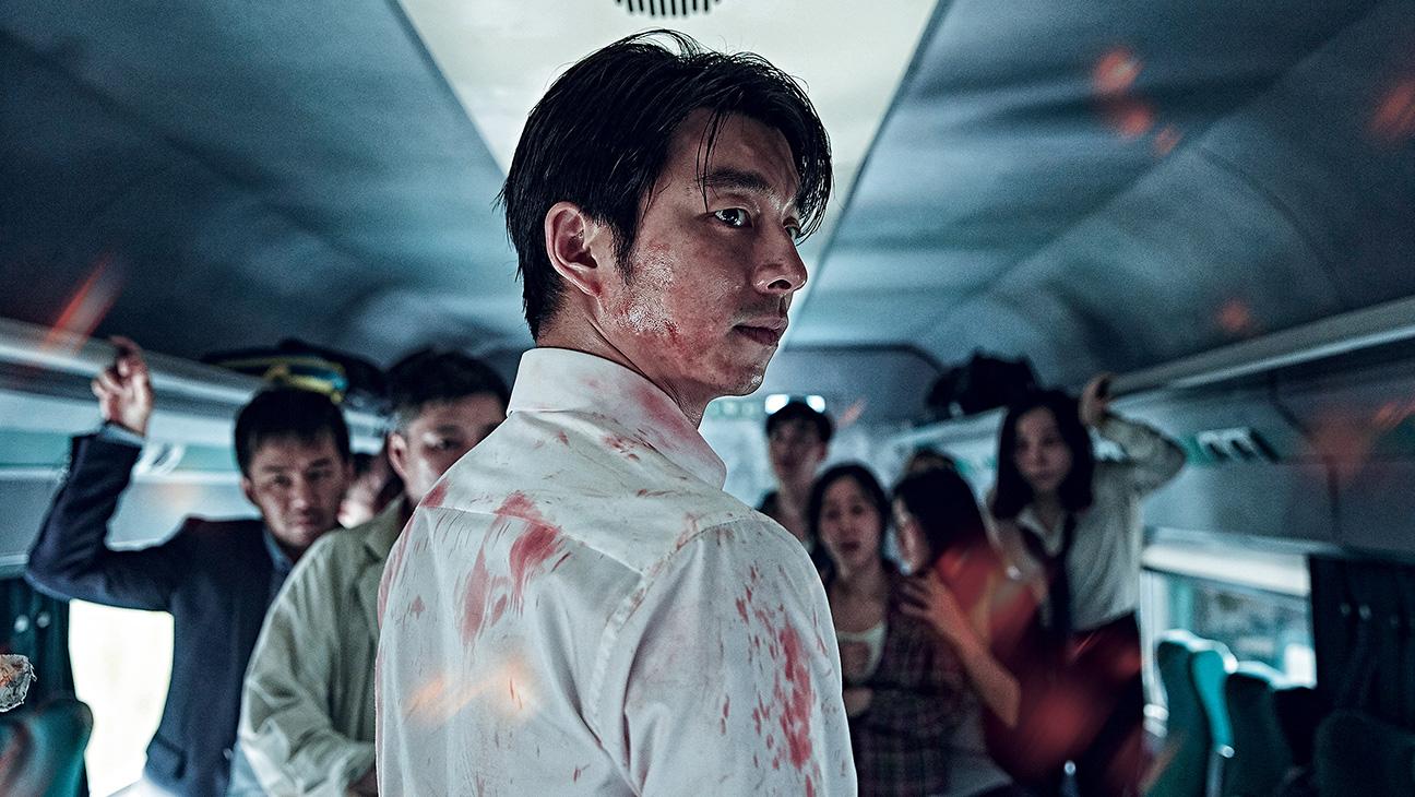 Passagerarna på expresståget mellan Seoul och Busan upptäcker att de är fast på tåget mitt under en Zombie-epidemi. Kaos och förvirring råder både utanför och inne på tåget, men ett gäng överlevare gör allt vad de kan för att inte bli infekterade själva eller att hamna i händerna på alla blodtörstiga zombies.   Train to Busan  hade världspremiär på filmfestivalen i Cannes där den blev en av årets stora överraskningar. Den har redan haft en rekordöppning i Korea där över 10 miljoner har sett filmen. Amerikanska bolagen Sony och Fox konkurrerar nu om remake-rättigheterna för filmen. Train to Busan har svensk premiär på Stockholms filmfestival i november.