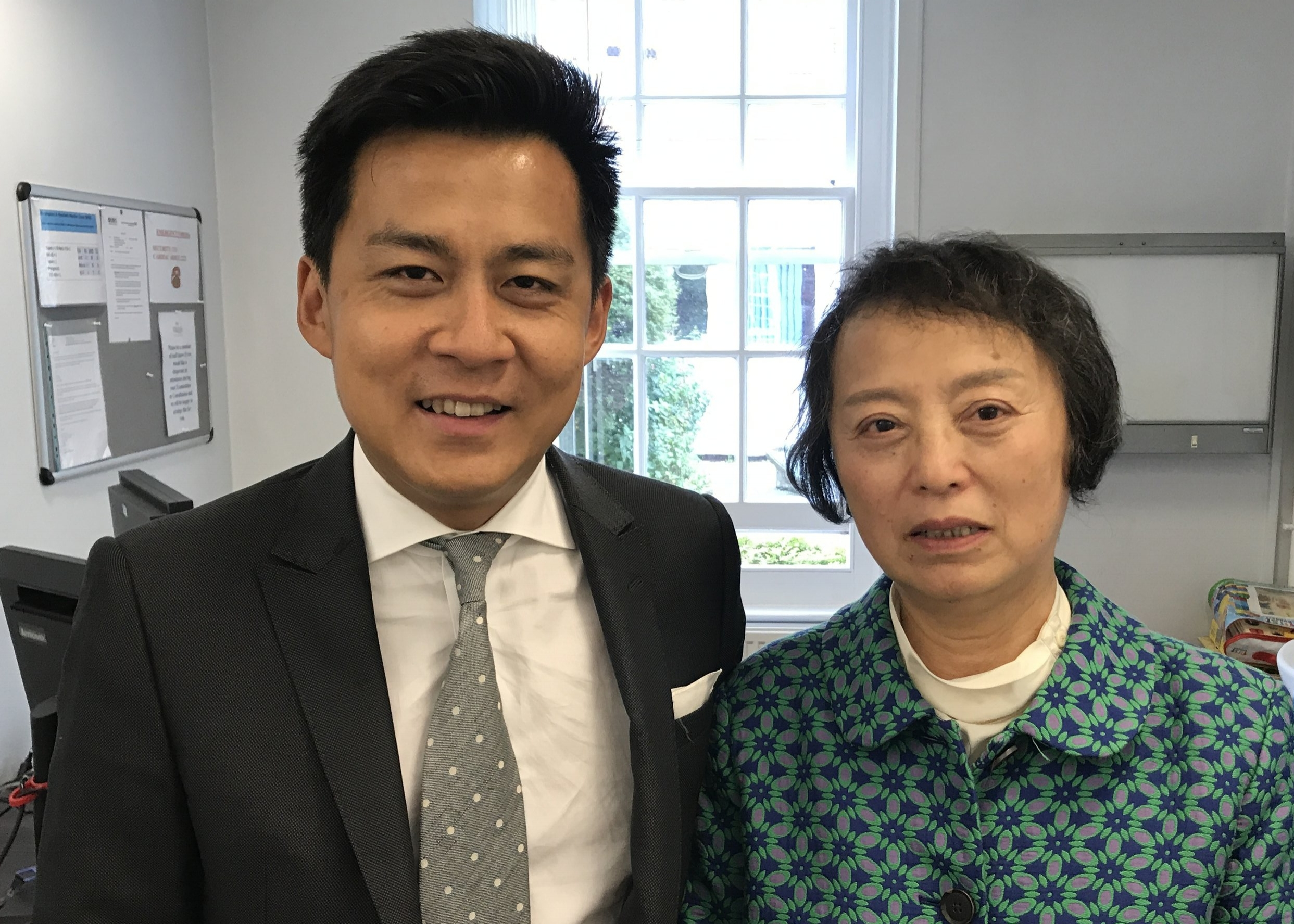 Pictured with a patient from China where the incidence of non-smoking lung cancer is high. Detailed knowledge of the underlying pathology is critical to the management options and for maximum preservation of precious lung tissue.