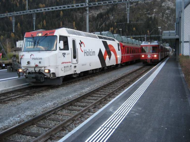 Bahnhof Thusis
