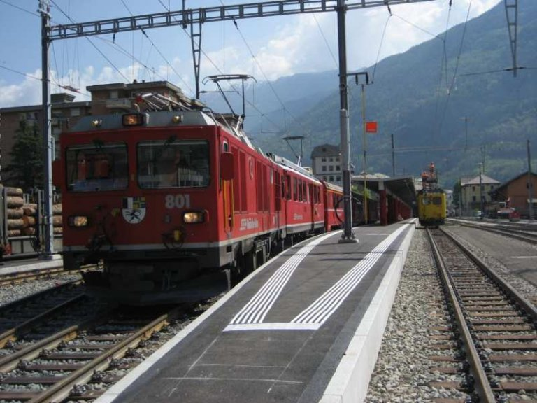 Bahnhof Tirano Italien