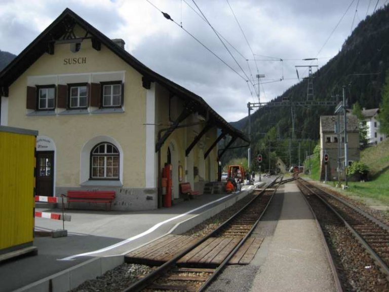 Bahnhof Susch
