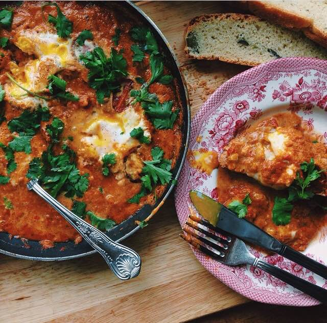 Dylan's Shakshuka. Yes, I think we may have to hire him when we open Café Currabinny.