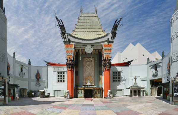 - Grauman's Chinese Theatre in Los Angeles