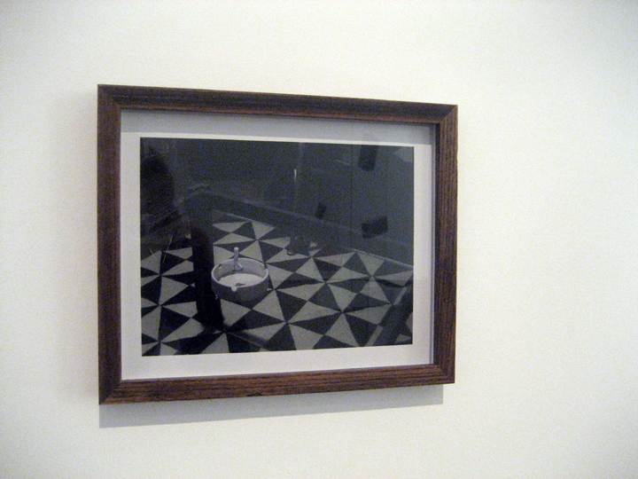 "The Poltergeist (ashtray) , 13"" x 17' (framed), Chromira print on Kodak Matte Paper, 2010"