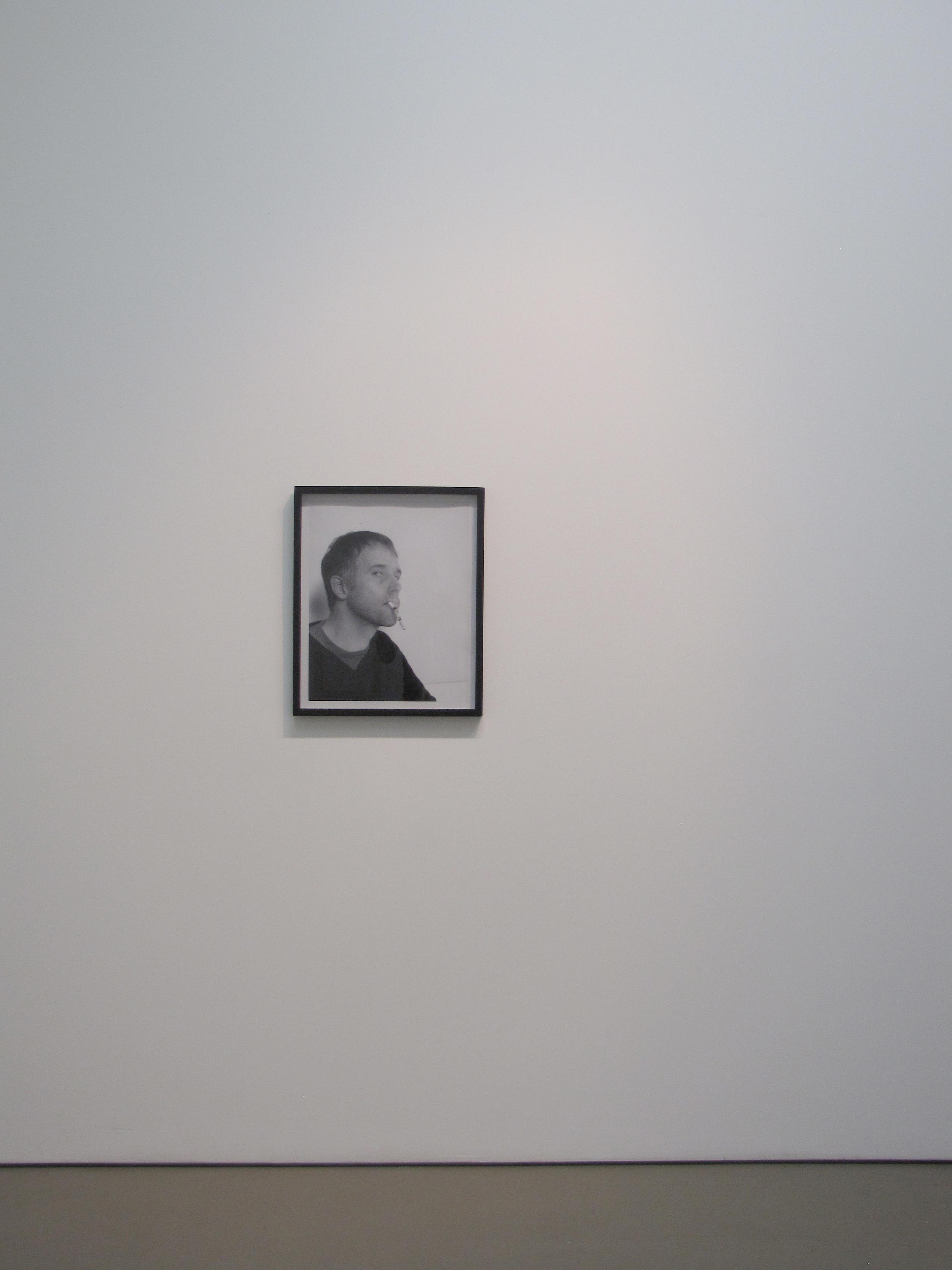 """Comedian , 23"""" x 19"""" (framed), Chromira print on Kodak Matte Paper, 2010"""