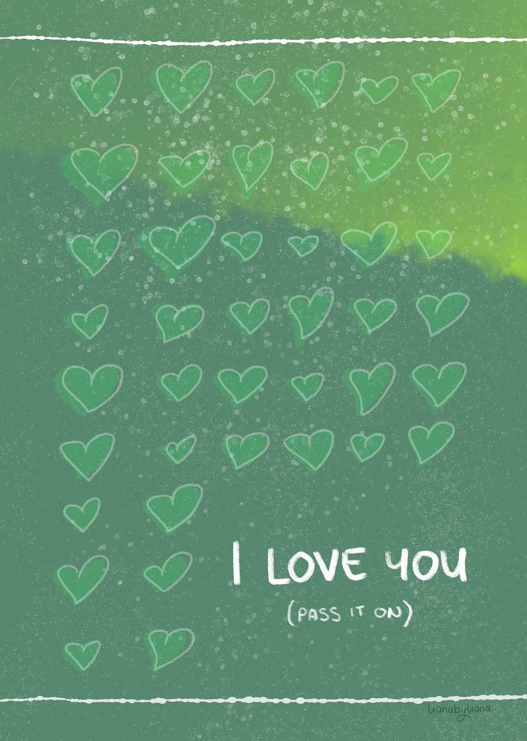 """""""Love"""" - by Liana Wright"""