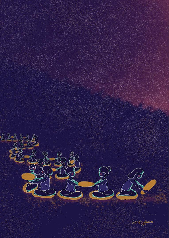 """""""Community"""" - by Liana Wright"""