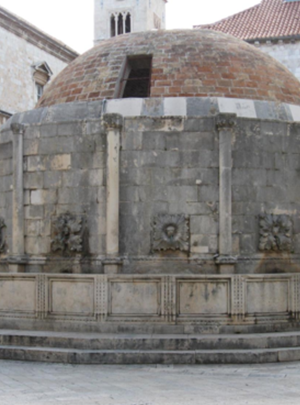 Onofrio della Cava's Great Fountain of Dubrovnik, c. 1440