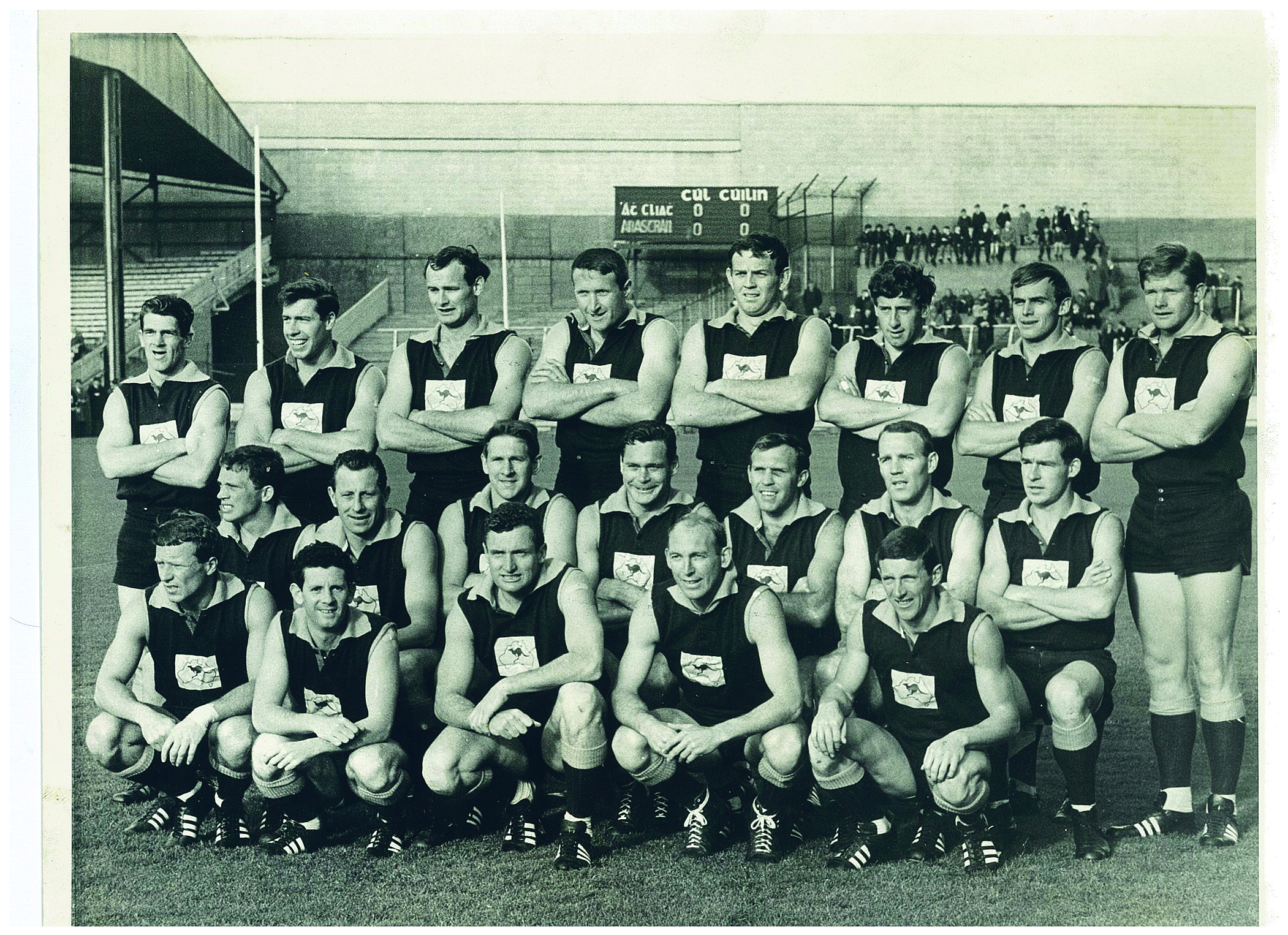 The Galahs team photo at Croke Park, 29 October 1967 (Irish Times  © - all rights reserved)