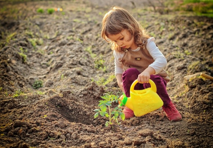 Gardening Help Your Children Grow