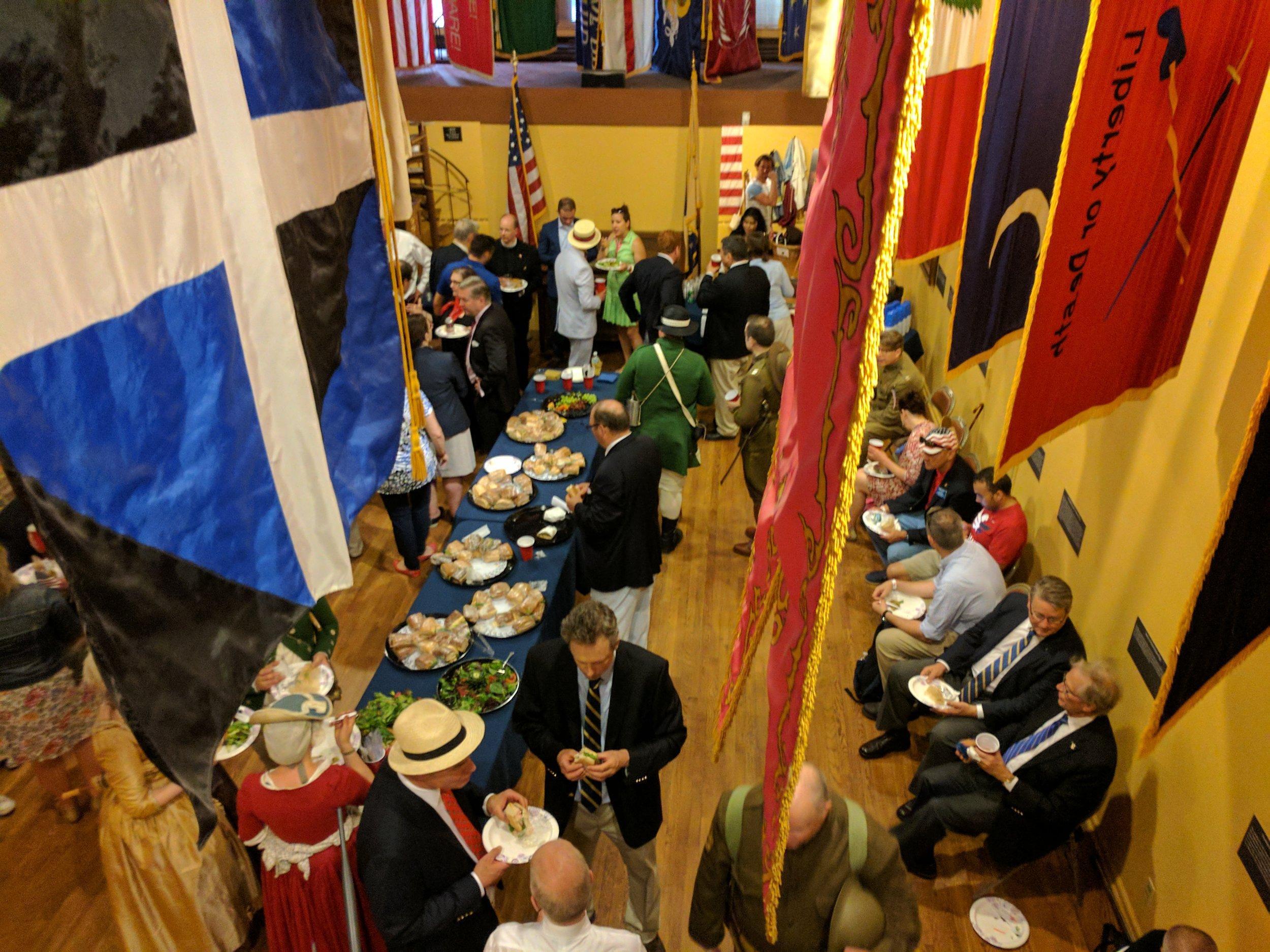 Flag Day 2017 Reception Flag Gallery Fraunces Tavern Museum.jpg