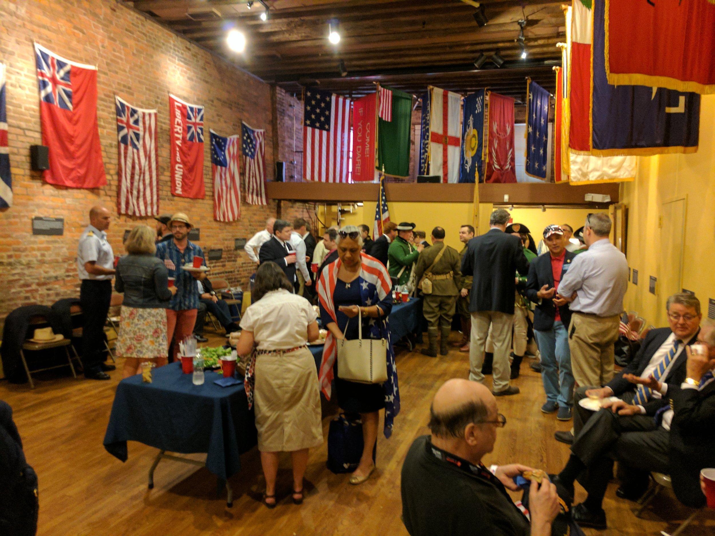 Flag Day Reception Fraunces Tavern Museum 2017.jpg