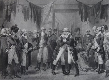 Washington's farewell to his officers  Thomas Phillibrowne, after Alonzo Chappel (1828-1887)