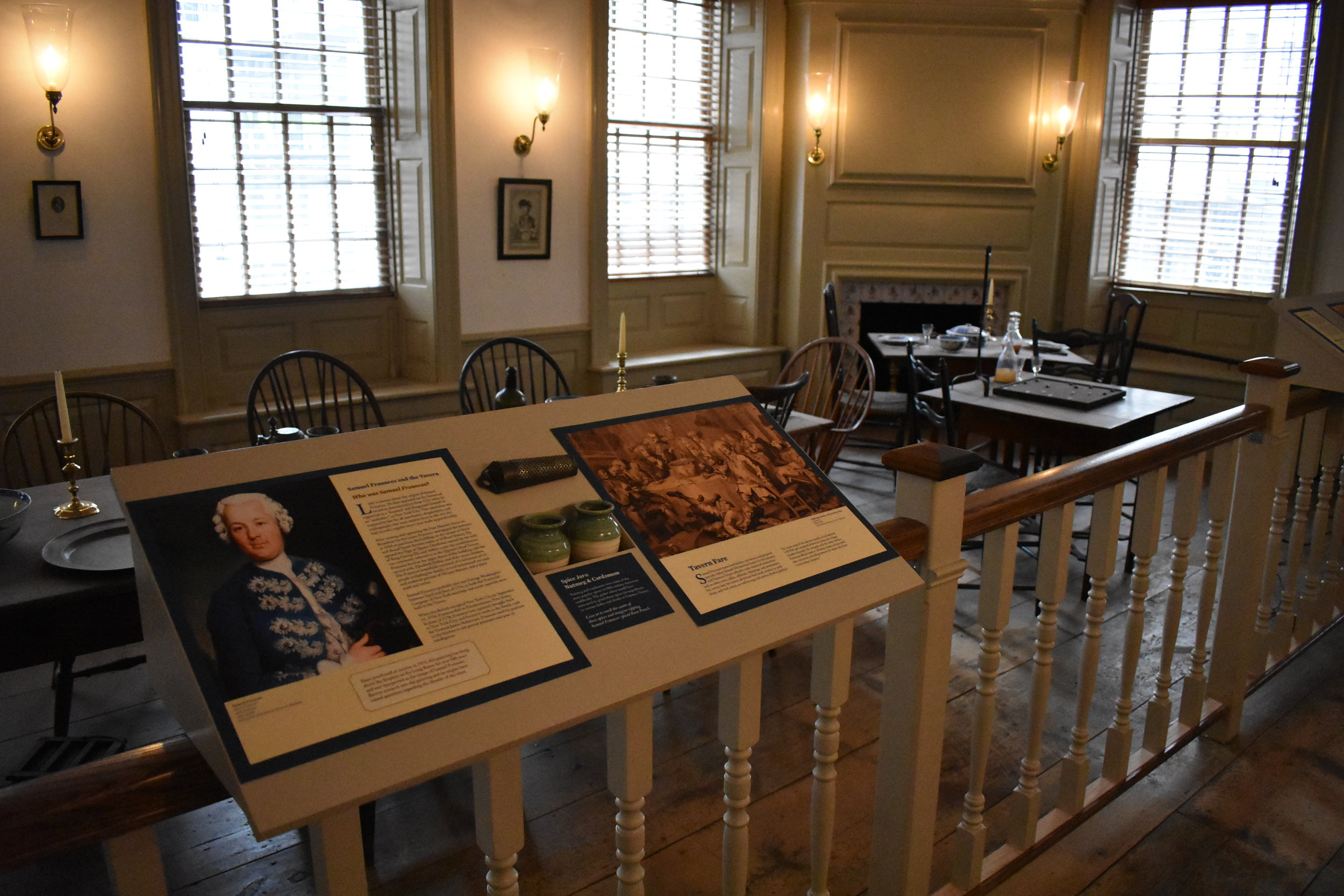 The Long Room, Fraunces Tavern Museum
