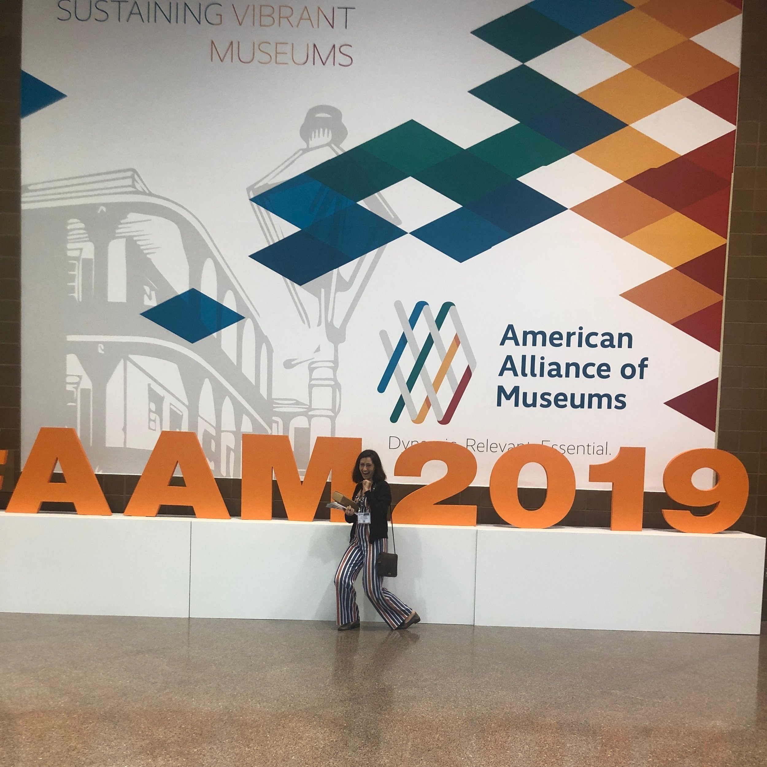 museum director, jacqueline masseo, at the aam annual meeting