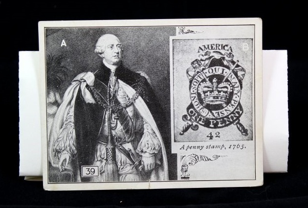 Commercial photolithograph, 3 9/16 x 4 3/4 in. Fraunces Tavern Museum, TR2019.01.026. Gift of Kent D. and Tina K. Worley.