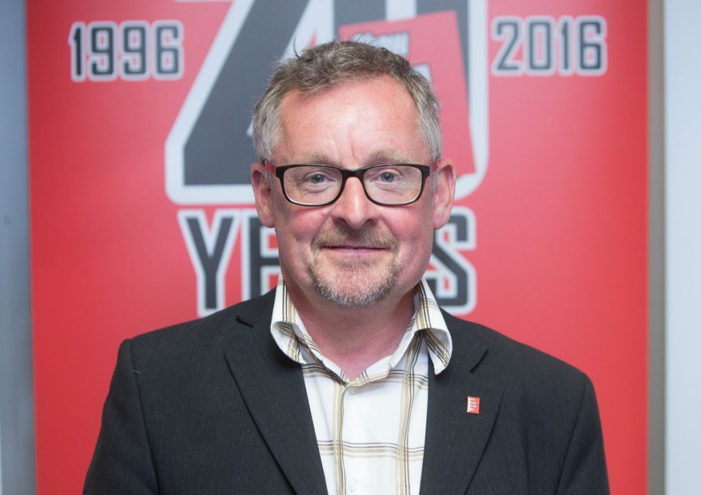 Show Racism the Red Card founder and chief executive Ged Grebby.