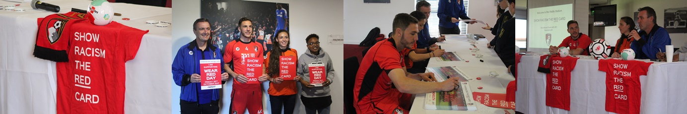 AFC Bournemouth - Show Racism the Red Card - Educational Event