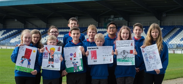 Crown Primary Inverness Show Racism the Red Card.jpg