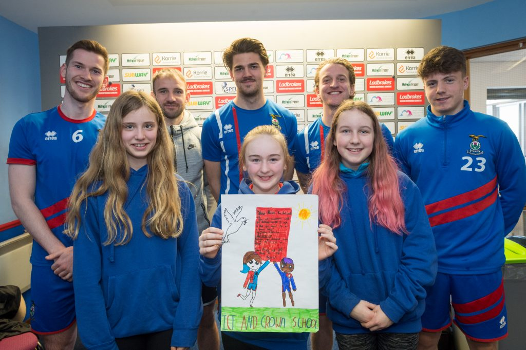 Inverness Caley Show Racism the Red Card.jpg