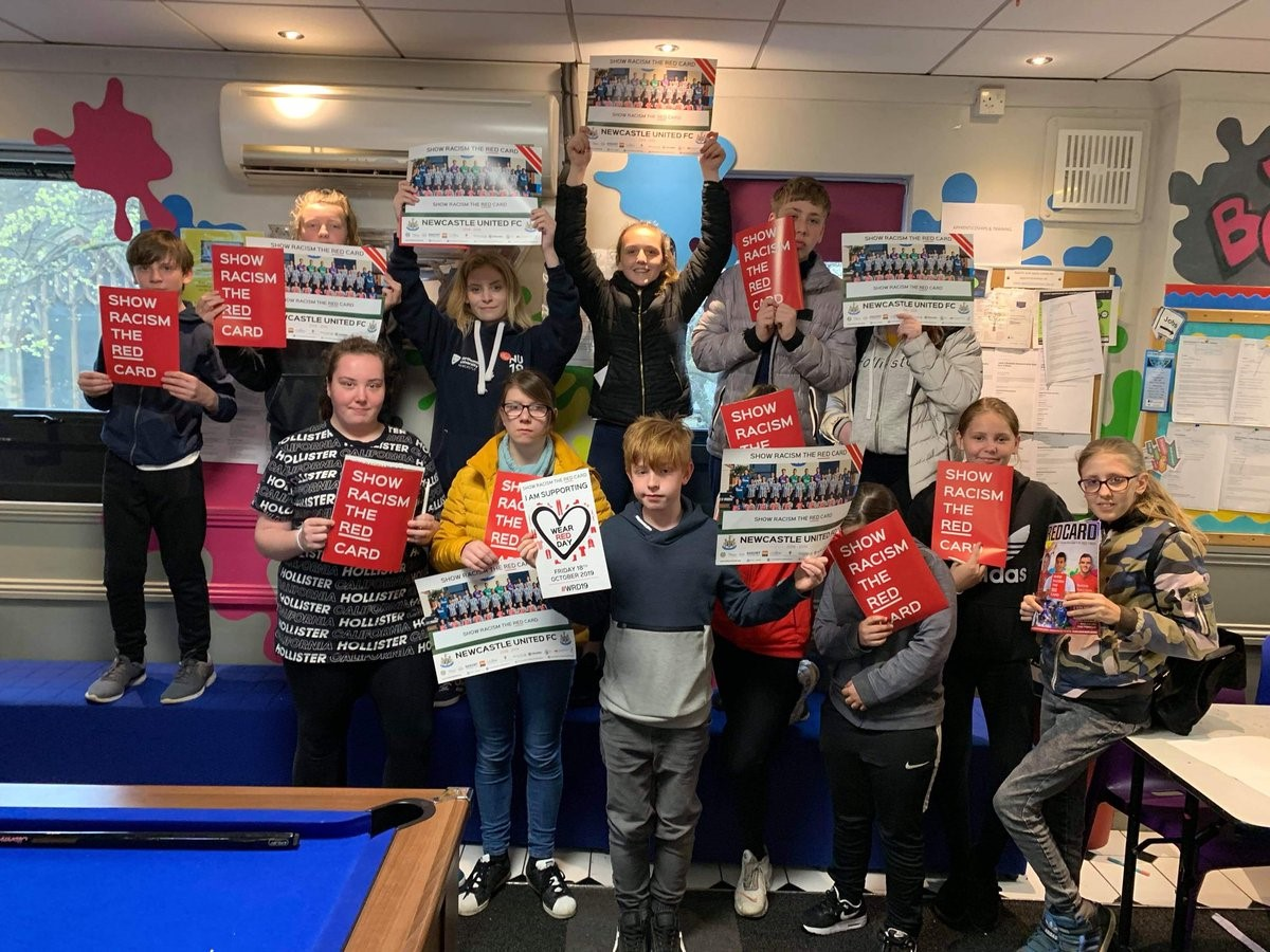 Newsham Youth Club Delivery 24 Apr 19