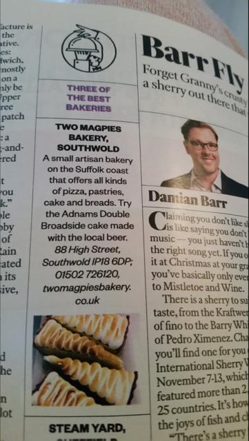 Sunday Times Magazine November 2016