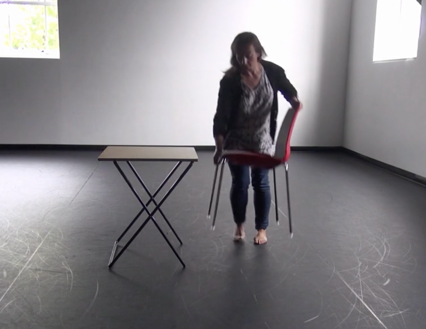 Repetition with Table and Chair