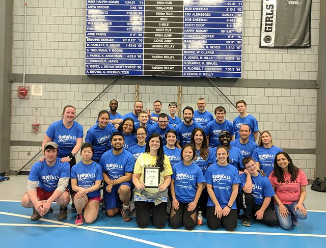 We did it! Oncorus is the 2018 #bioball fundraising champ! All for such an amazing cause @specialolympicsma  #playunified #lovewhereyouwork