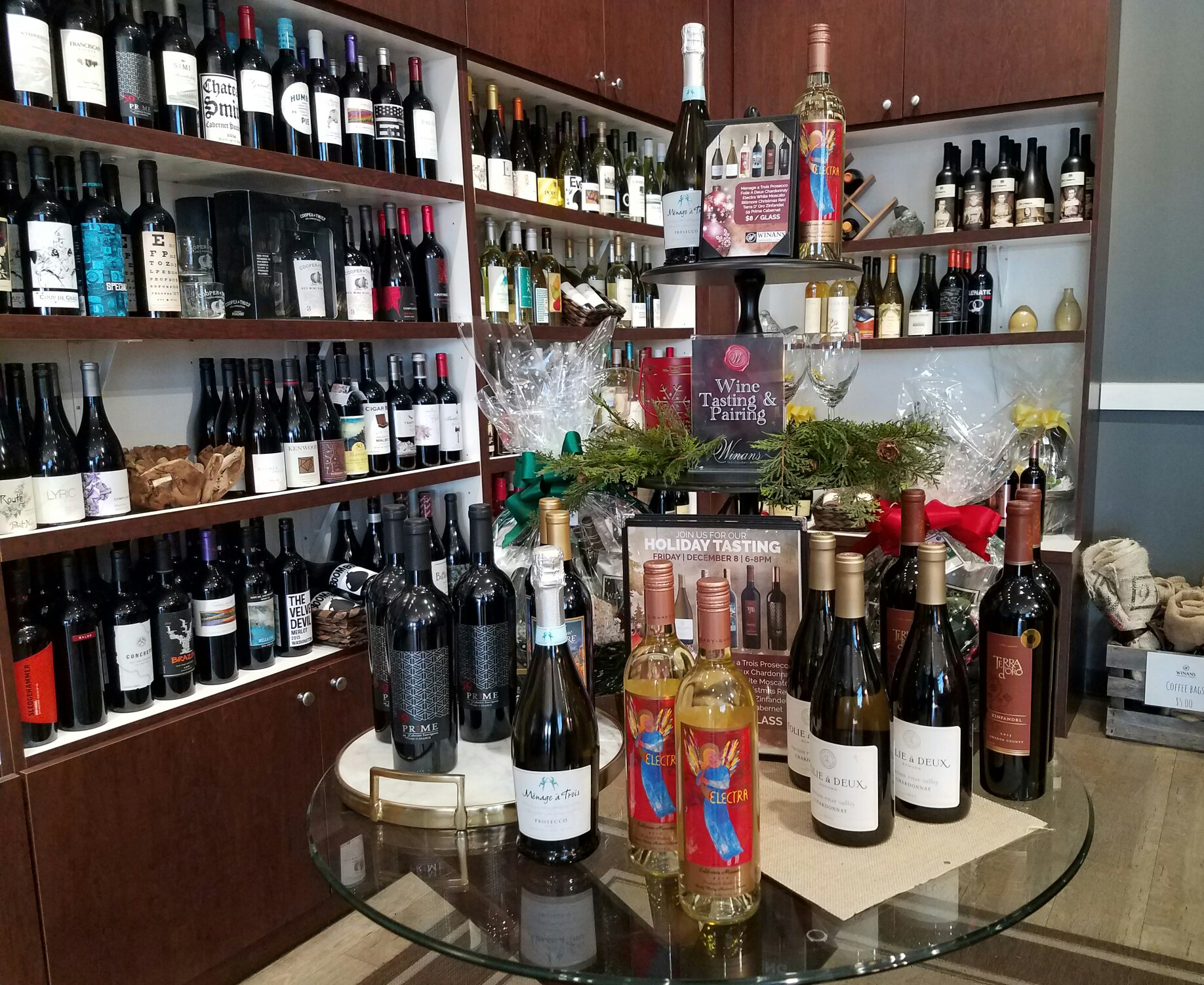 Check out our wine collection!