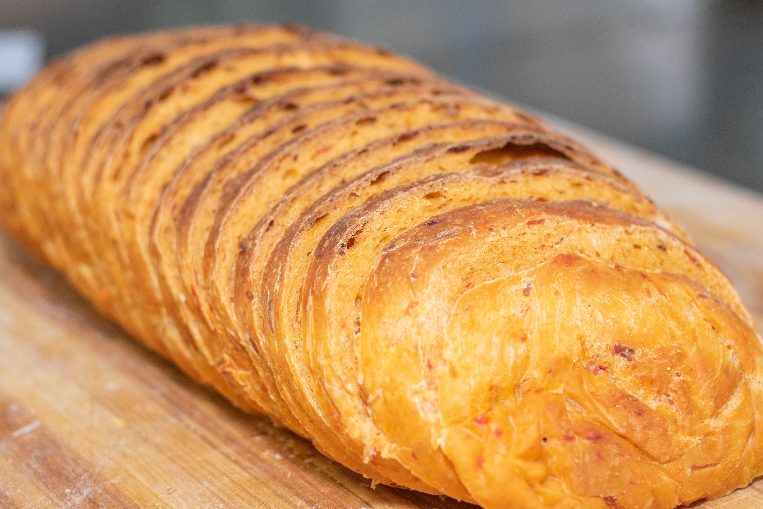 Roasted Red Pepper Sandwich Loaf
