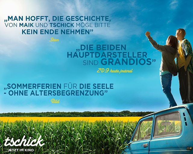 Woop, woop! Das zieht uns den Stecker! #tschick - jetzt im Kino! #tschickfilm