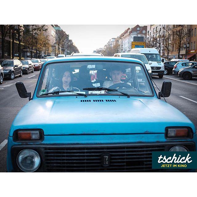Alles eingepackt? Jetzt geht's ins Wochenende!#tschick #tschickfilm - jetzt im #Kino! Fotos: © Michael Hain