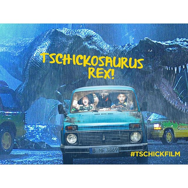 Reeeeennnnnttt ins #Kino, sonst holt euch der Tschickosaurus Rex! #tschick #tschickfilm: Link in Bio!