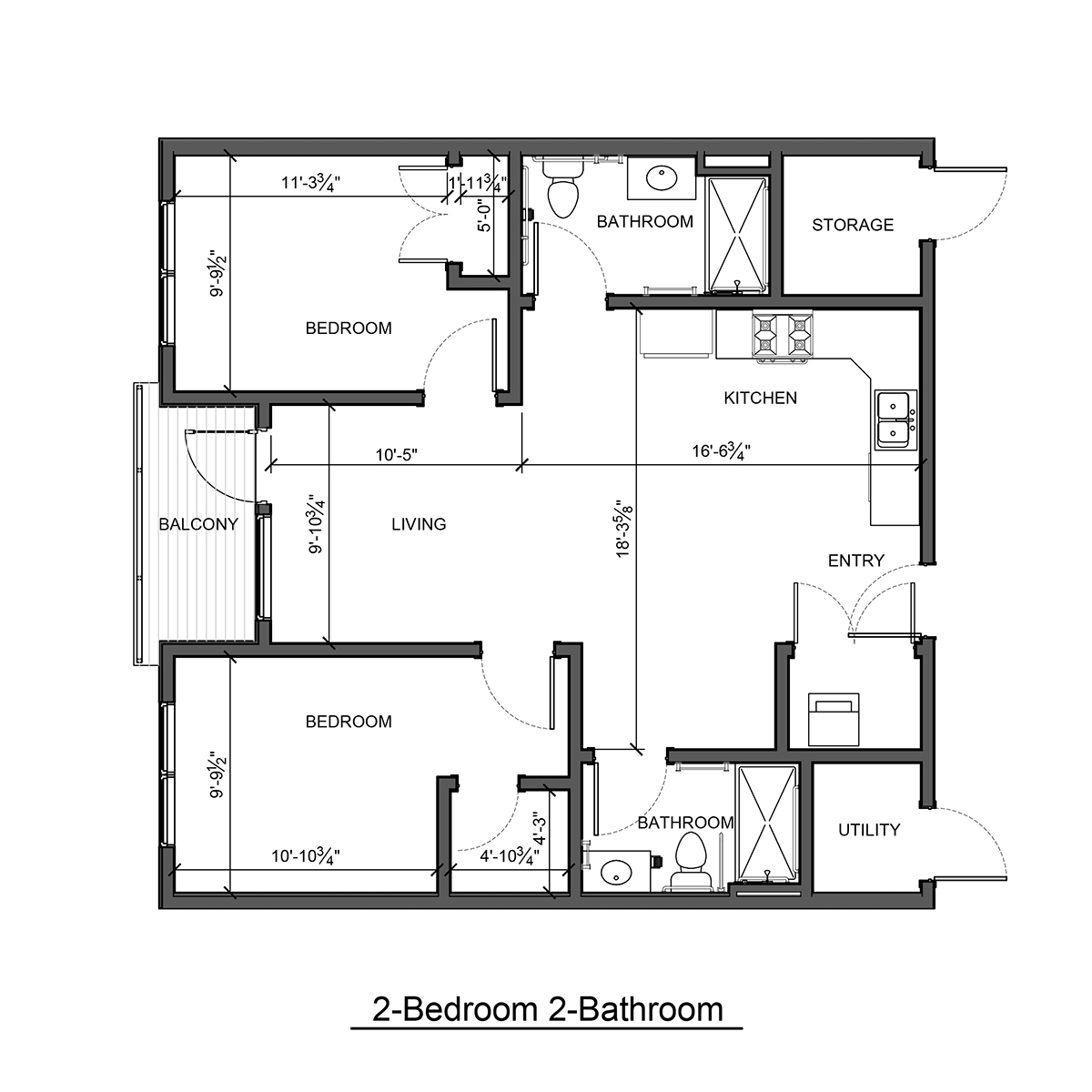 Floor Plans — Hidden Hollow