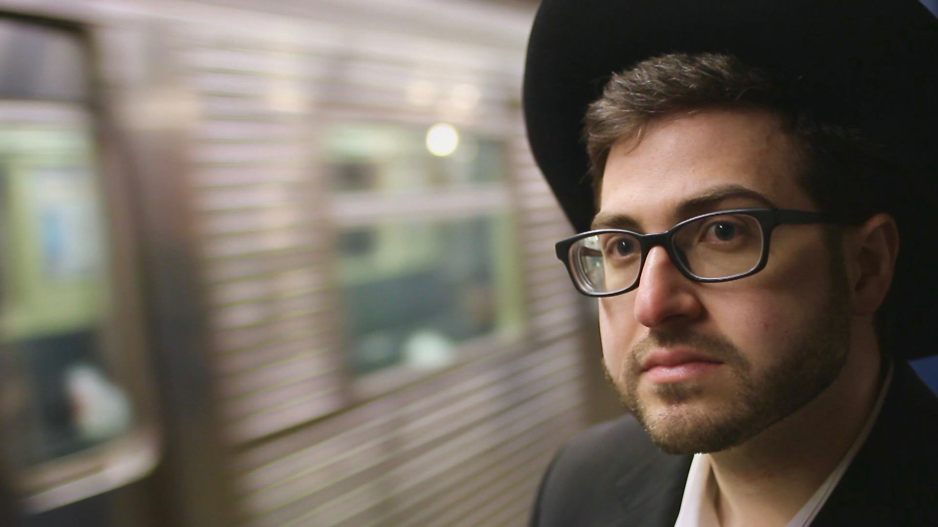 A Jew Walks Into a Bar - A Jew Walks Into a Bar is a 24-minute version of Standing Up focusing only on David Finklestein's story.Synopsis: Ultra-Orthodox Jew David Finklestein struggles to balance his love of stand-up comedy with his strict religious lifestyle, until he's forced to make a choice between his passion and his community.