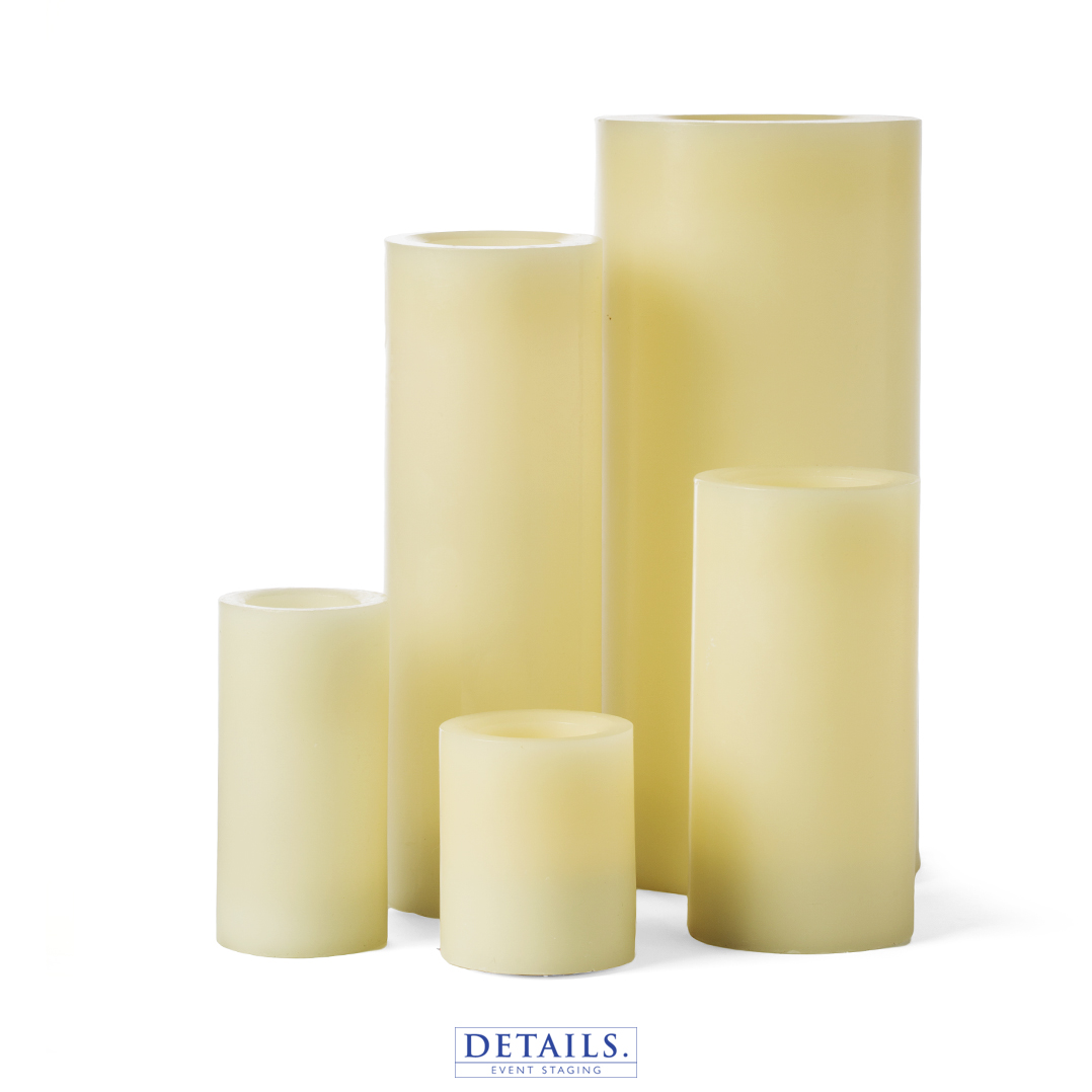 Assorted Flameless Candles
