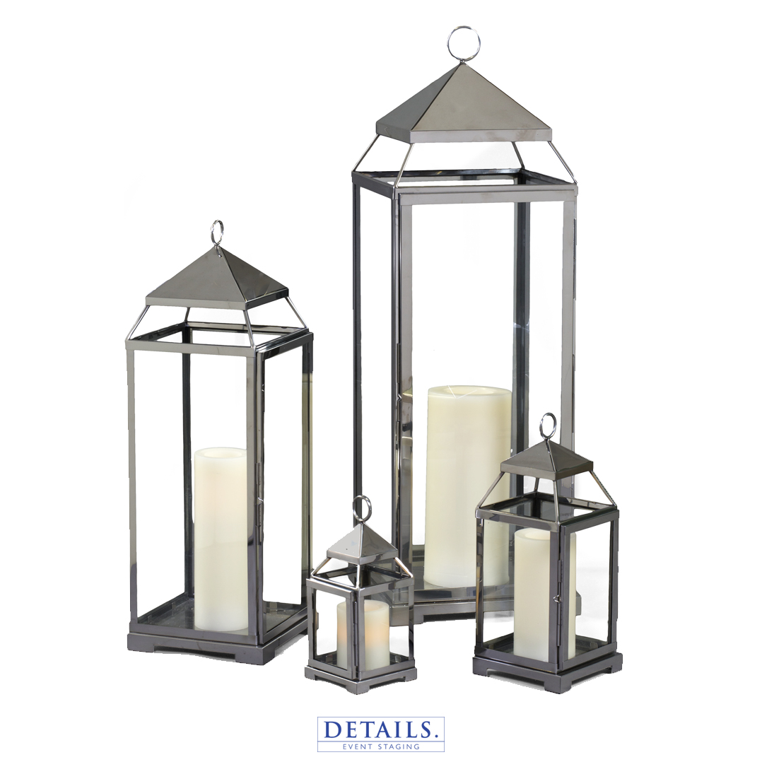 Silver MALTA LANTERN COLLECTION (AVAILABLE IN SMALL, MEDIUM, LARGE, AND EXTRA LARGE)