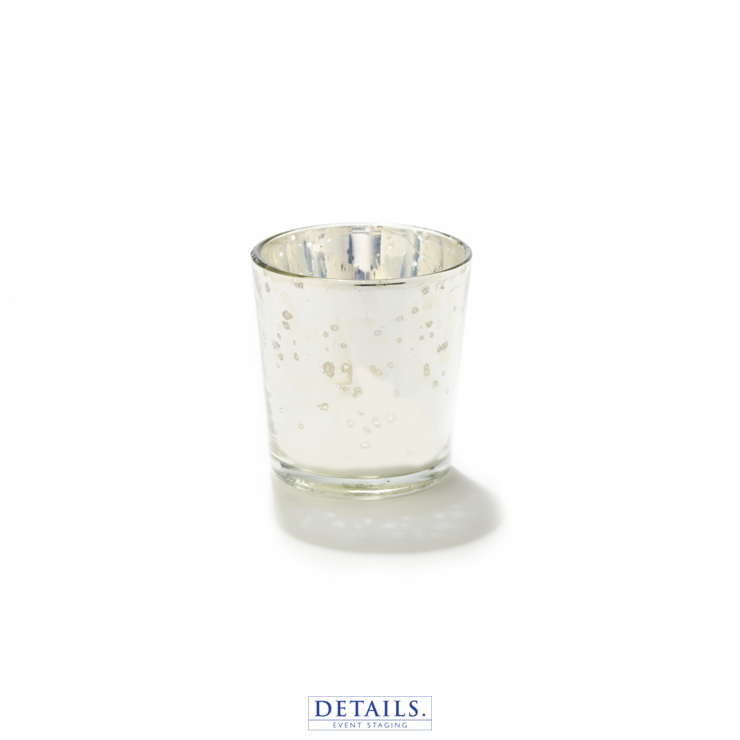 MERCURY SILVER CANDLE CUPS