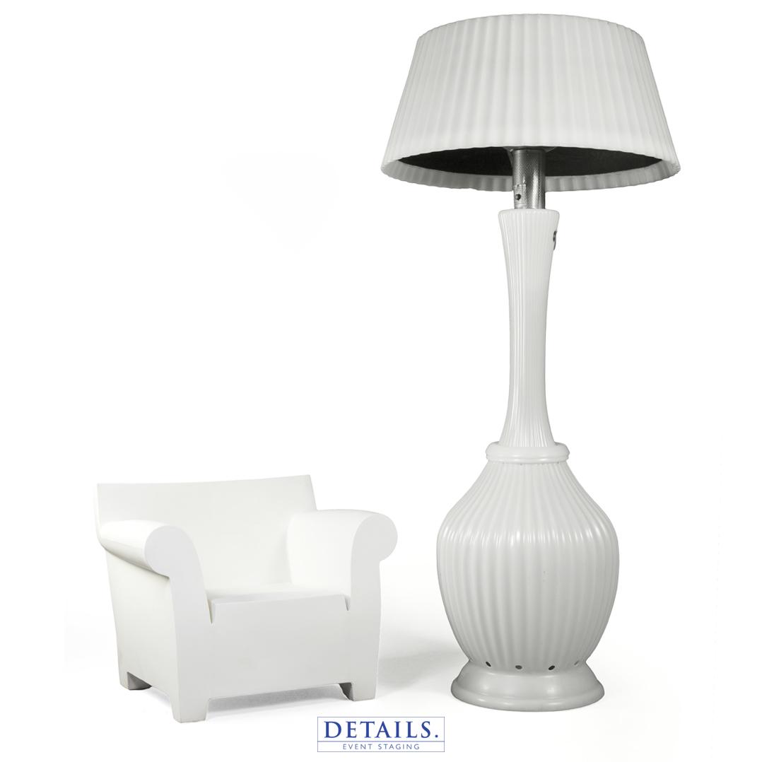KARTELL & KINDLE LIVING — CHAIR & HEAT LAMP