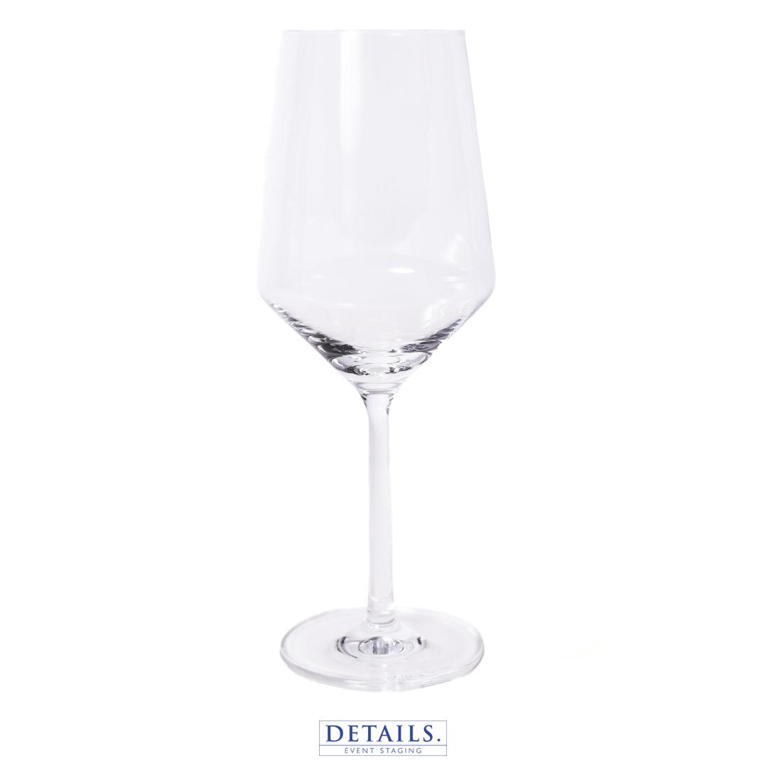 PURE — BURGUNDY GLASS